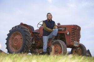 Jennifer Hayes, dairy farmer in Shigawake on the Chaleur Bay