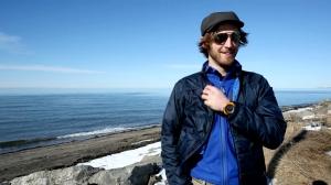 David Didier UQAR coastal erosion graduate student