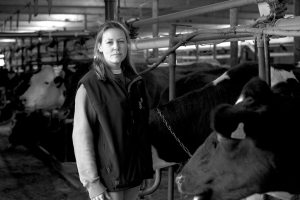 Jennifer Hayes loves her land and her animals!
