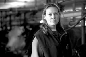 Jennifer Hayes - Farmer in Shigawake on Baie des Chaleurs (Chaleur Bay)